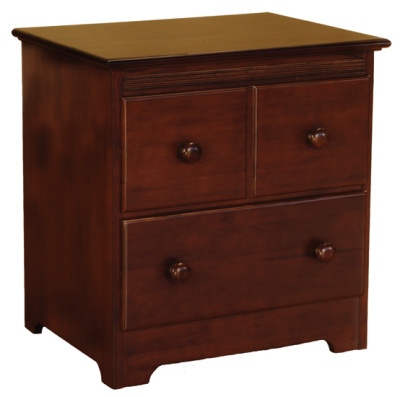 Atlantic Furniture 2 Drawer Nightstand