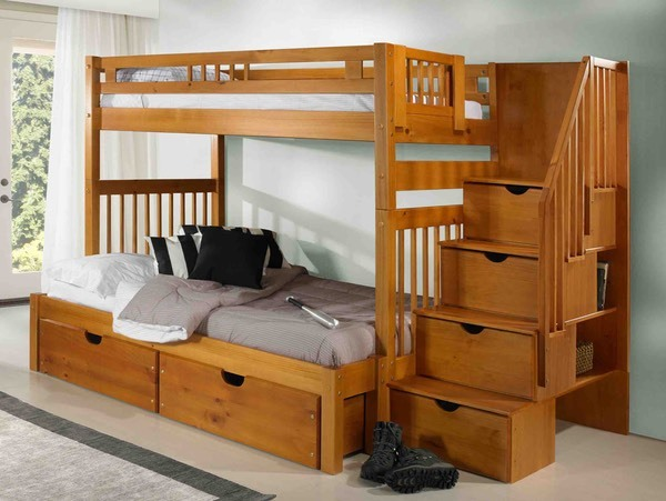 Innovations - Staircase Bunkbed with Staircase