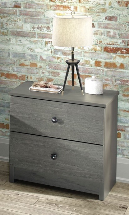 Innovations - Gray Nightstand