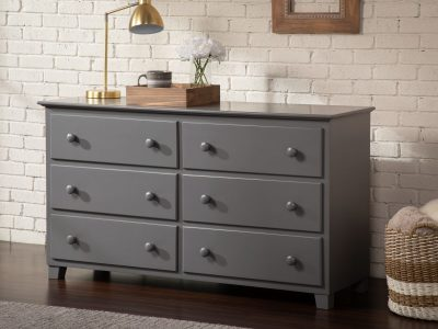 Atlantic Furniture Dresser - Grey