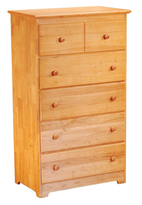 Atlantic Furniture Chest - Natural