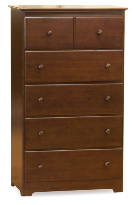 Atlantic Furniture Chest - Antique Walnut