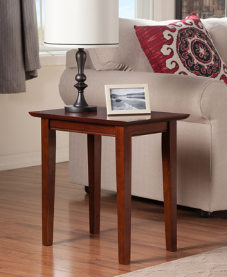 Atlantic Furniture - Shaker Chairside End Table