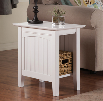 Atlantic Furniture - Cottage Chairside End Table
