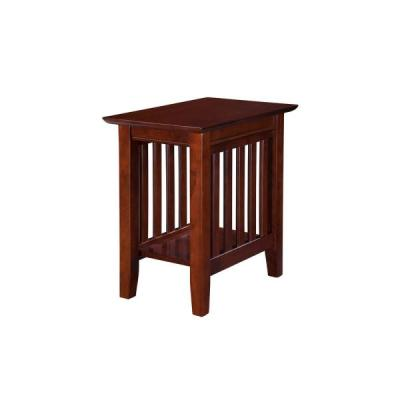 Atlantic Furniture - Mission Chairside End Table