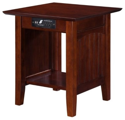 Atlantic Furniture - Cottage Charging End Table